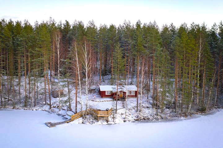 Ainola - Raudanniemi, with private beach