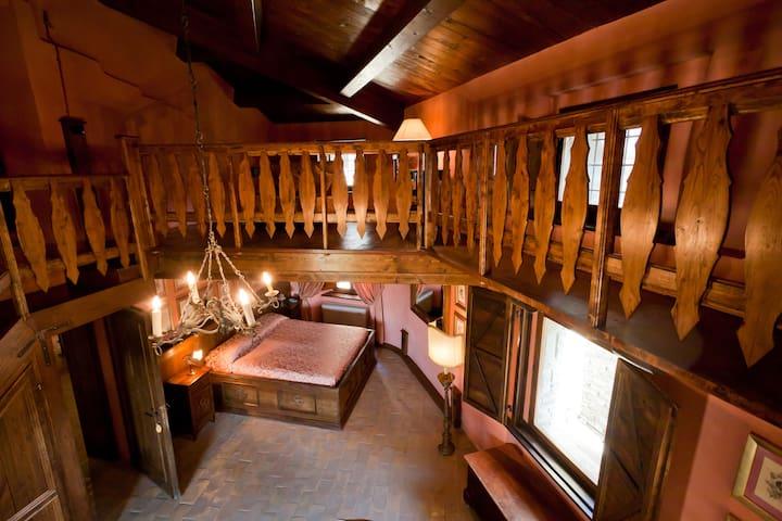 Castello di Petroia- De-luxe room - Gubbio - Istana