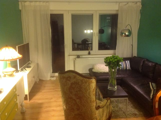 Modern,4 rooms,garden,city-center - Nürnberg - Apartamento