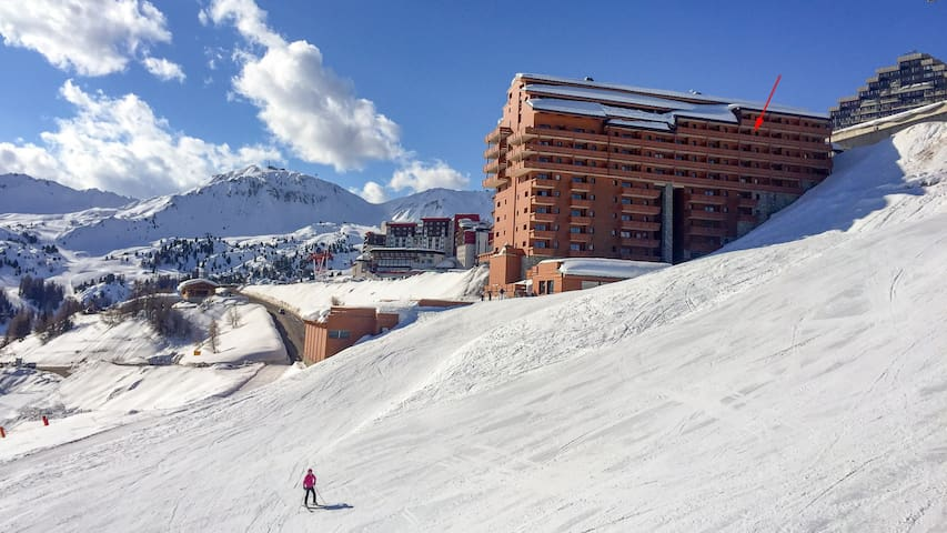 Ski in/out, swimming pool, wellness @ La Plagne