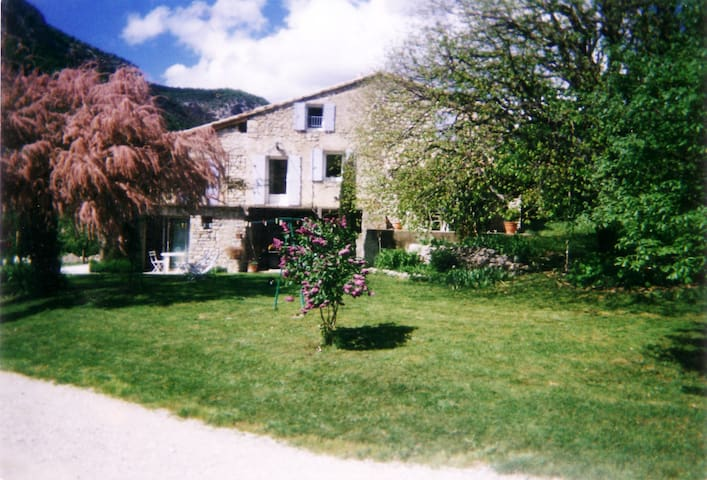 studio dans ferme rénovée Drôme - Sahune - Wohnung