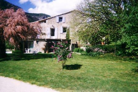 studio dans ferme rénovée Drôme - Sahune