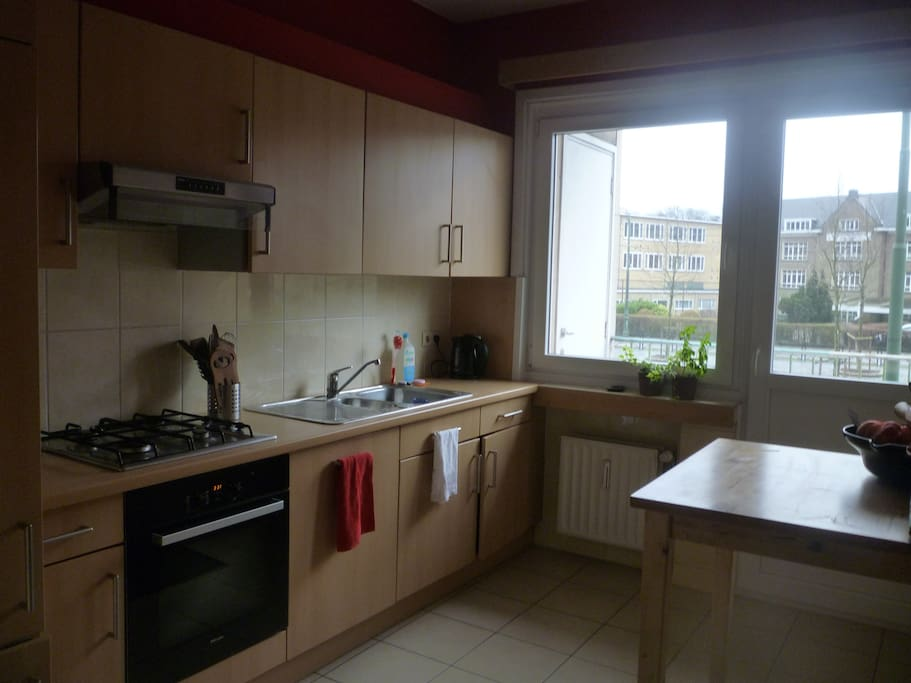 Fully furnished and convenient kitchen