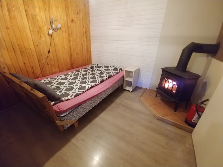 15min->Old Town by bus|Quiet&cozy+fireplace&sauna