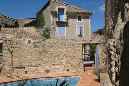 Maison Bouleau - stone house with private pool - Saint-Nazaire-de-Ladarez - House
