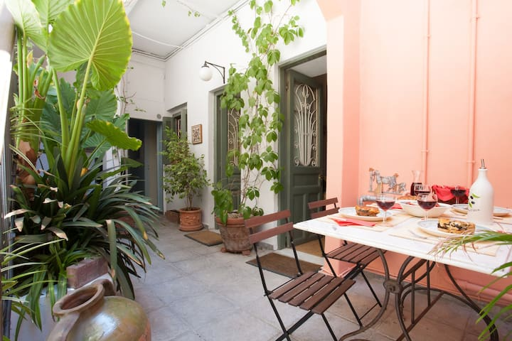 Private courtyard-heart of Athens  - Athens - Apartment