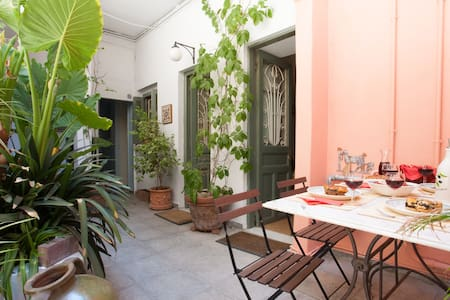 Private courtyard-heart of Athens  - 雅典 - 公寓