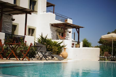 Sea view apts swimming pool - Lachania