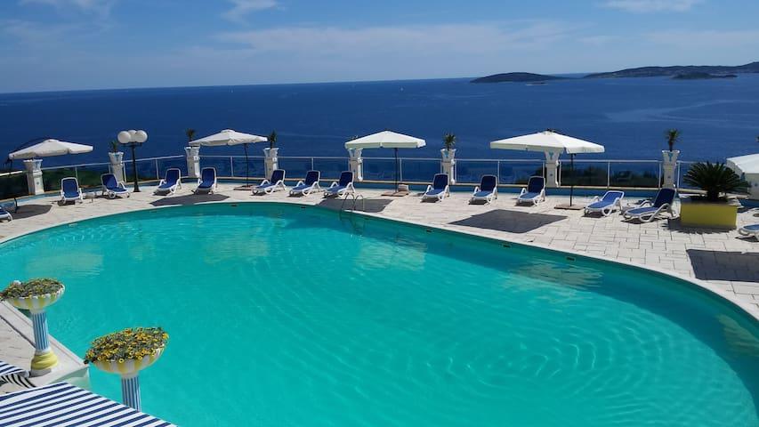 Villa Antonio double room sea view - Sabbioncello