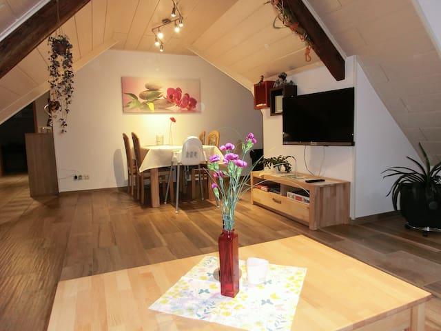 """Altes Forsthaus (Bad Peterstal-Griesbach), Ferienwohnung """"Bianca"""", 110qm, 2 Schlafzimmer, max. 4 Personen"""