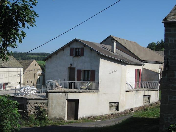Maison de village en Margeride