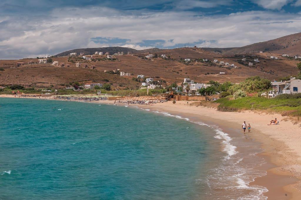 Παραλία Άγιου Πέτρου | Agios Petros Beach