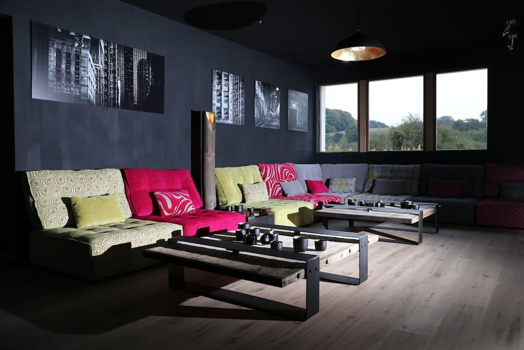 Loungeruimte voor onze gasten