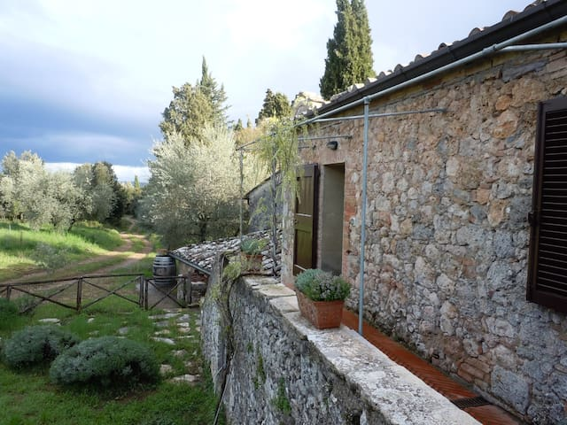 Cozy house in a medieval farm - Sovicille - Rumah