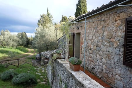 Cozy house in a medieval farm - Sovicille - Talo