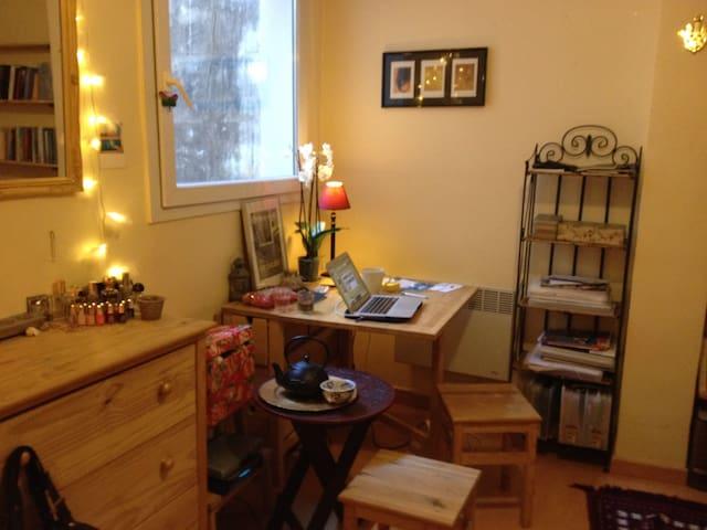 ★ Lovely quiet studio in le Marais