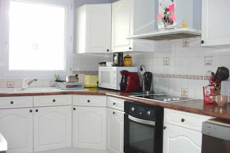 Spacious, Nice to stay flat  2 bedrooms - Bussy-Saint-Georges - Appartement