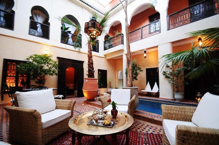 Riad Hadda Chambre Malika - Marrakech