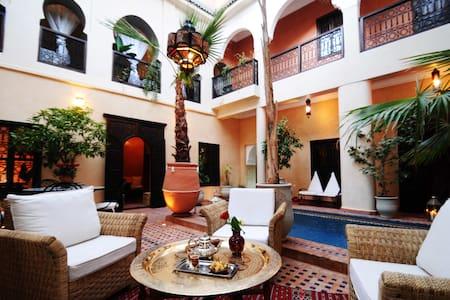 Riad Hadda Chambre Malika