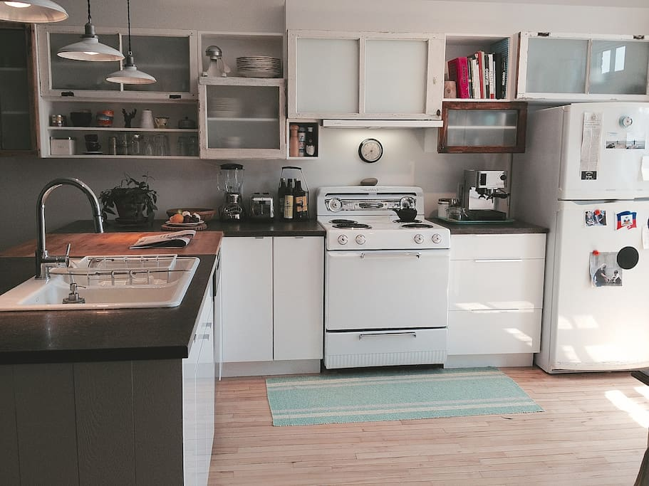 Plein d'espace pour cuisiner!