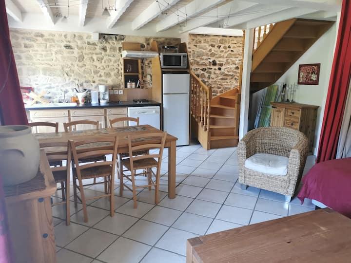Moulin de la Fortie - Gîte Cheix Blanc 6 personnes