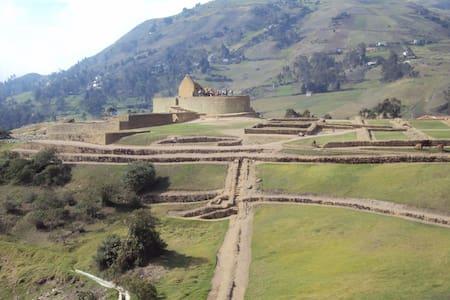 Ruinas Arqueologicas, fotografia   - Azogues
