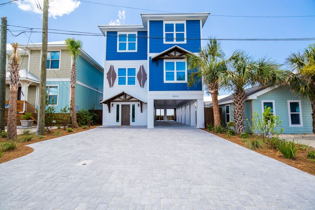 French Kiss 6 Bedroom 6 5 Bathroom Houses For Rent In Panama City Beach Florida United States