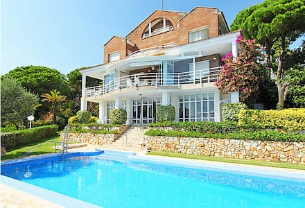 Habitacion con preciosas  vistas a mar y montaña - Arenys de Munt - Casa