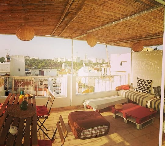 Doble Moroccan Room HeartKasbah.Breakfast included