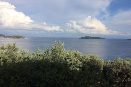 Garden, Olive grove and an unforgettable sea view!