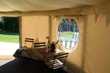 Luxury Yurt Dimmingsdale Woodland Retreat