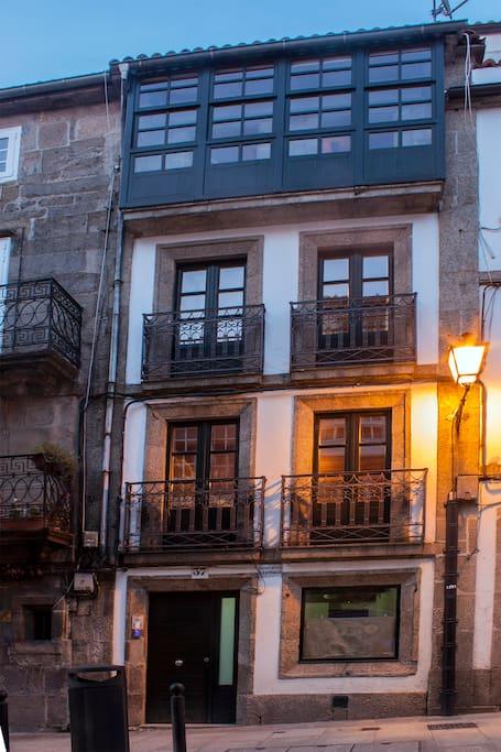 C ntrico edificio apartamentos 10 apartamentos en alquiler en santiago de compostela galicia - Apartamento santiago de compostela ...