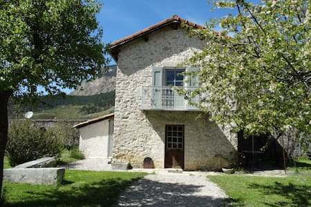 Le Cabanon - Châtillon-en-Diois - Blockhütte