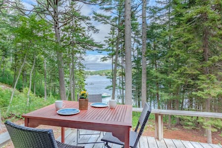 Chic Boothbay Harbor Studio Cabin - Rumah