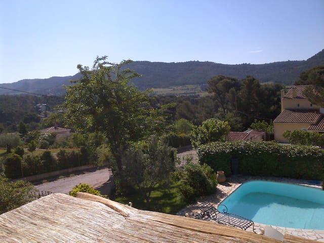 """Villa proche Cassis avec Piscine. La """"SAROUNETTE"""" - Roquefort-la-Bédoule"""