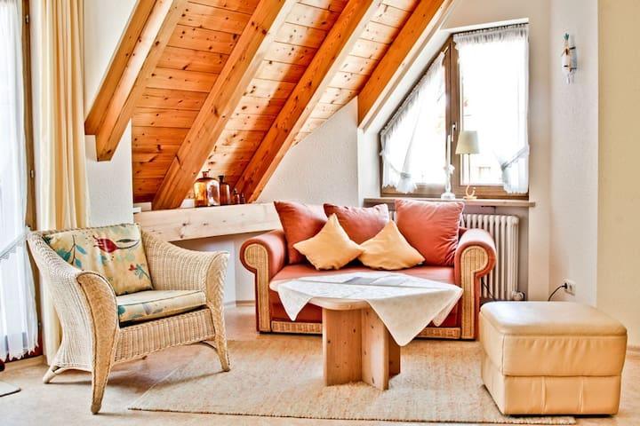 Gästehaus Merk, (Immenstaad am Bodensee), Ferienwohnung mit 28 qm, 1 Wohn-/Schlafraum für maximal 3 Personen