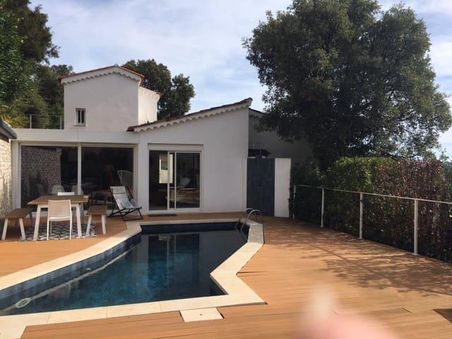 CAVALAIRE SUR MER Chambre dans Villa avec piscine