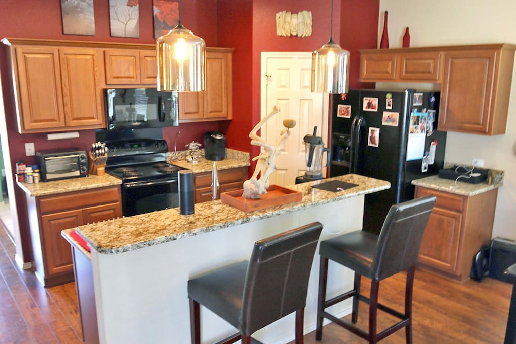 Adequate Kitchen with Untensils
