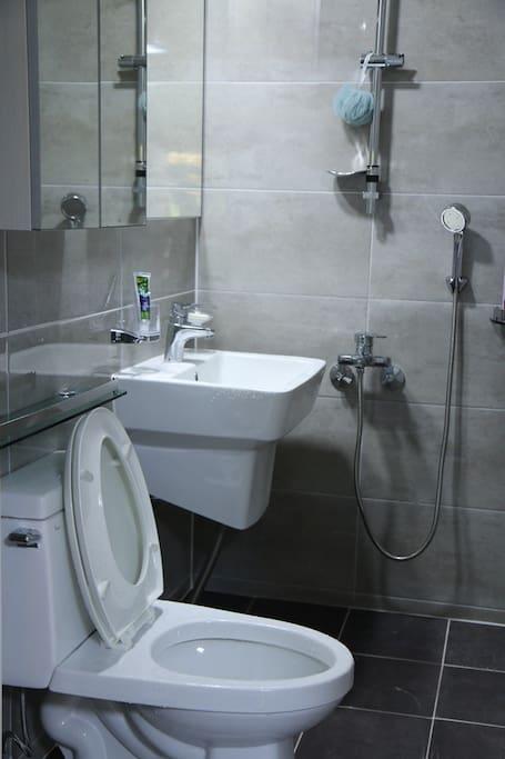 깨끗한 욕실
