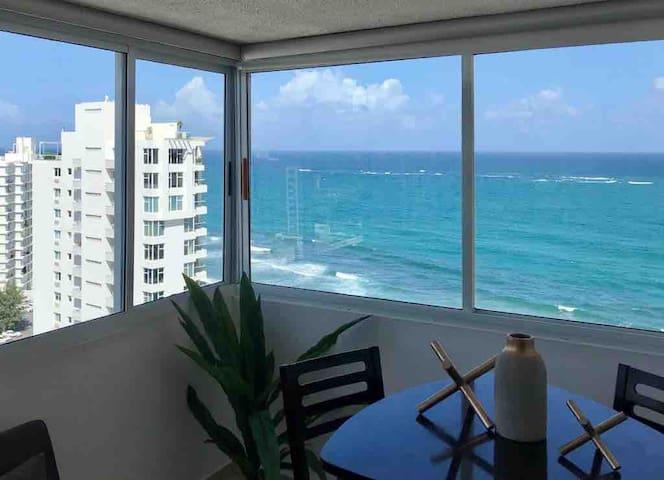 San Juan PR, Studio with ocean view @ Condado
