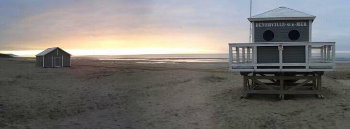 Maison Proche de la plage Le clairefontaine 4/6 p