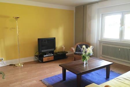 Freundliche, geräumige Ferienwohnung in Hessen - Langgöns - Lejlighed