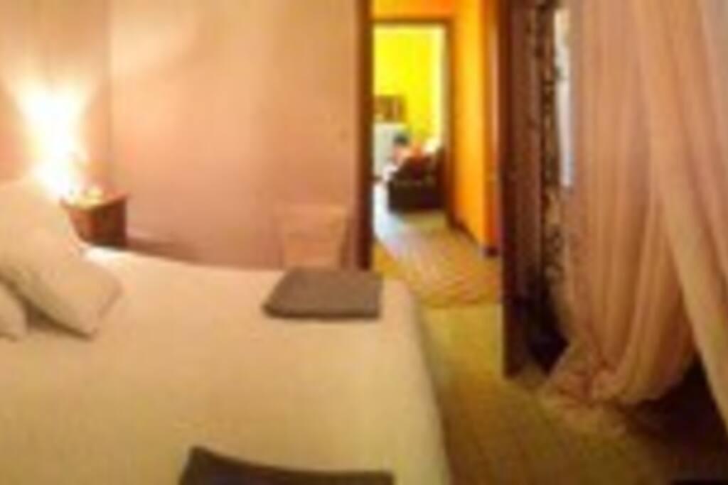 Shanti piccolo appartamento appartamenti in affitto a for 2 appartamenti della camera da letto principale