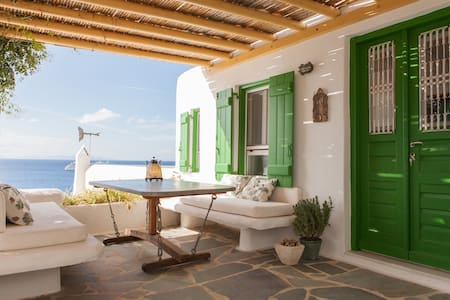 Traditional mykonian house with stunning sea view - Mykonos - Huis