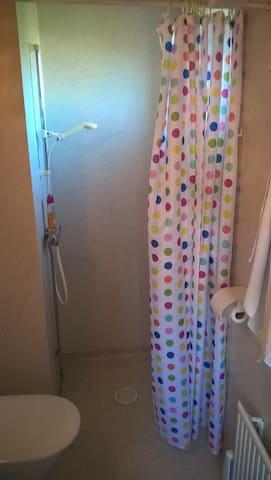 Dusch och toalett