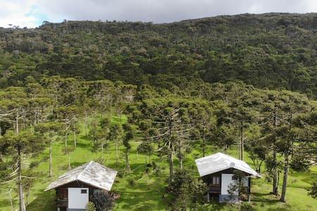Refugio Arati - Urupema SC (Cabana Gralha-Azul)