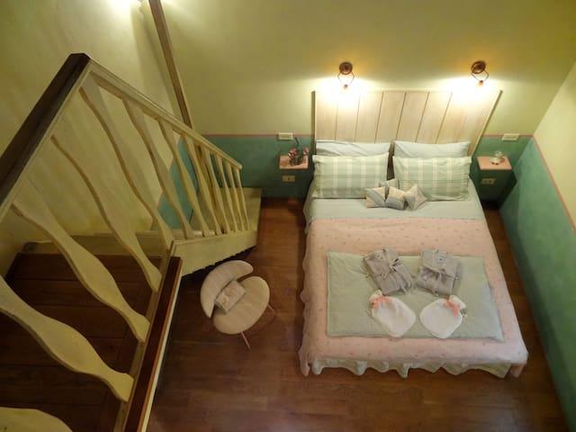 Family quadruple B&B room - Umbria - Amelia - Bed & Breakfast