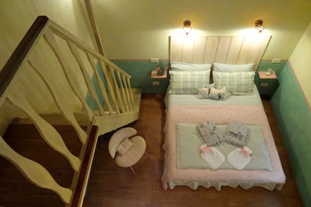 Family quadruple B&B room - Umbria - Amelia - Bed & Breakfast