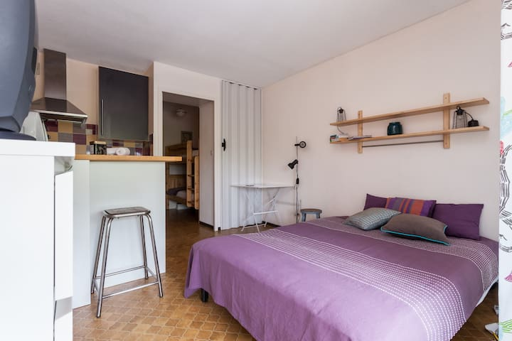 Cosy flat in Gruissan