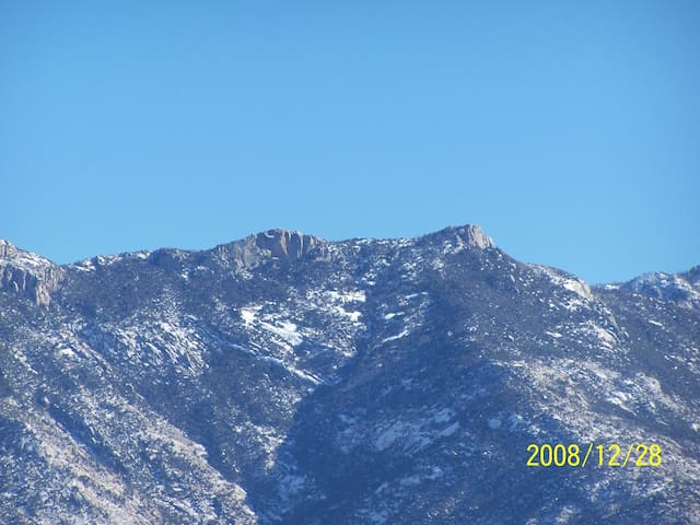 Great view of Catalina Mtns. - Tucson - Casa